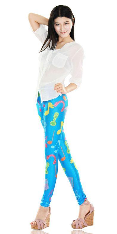new_musical_note_print_blue_tight_leggings_leggings_3.JPG
