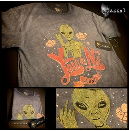 Not Alone Middle Finger T Shirt, By 5area1, Our Sister Brand, Men's/