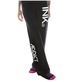 Ink Women's Black Sweatpants White