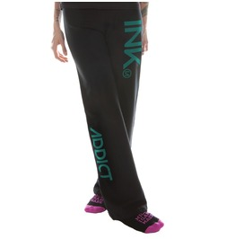 Ink Women's Black Sweatpants Teal