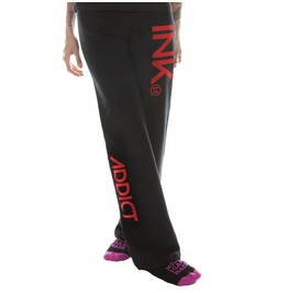 Ink Women's Black Sweatpants Red