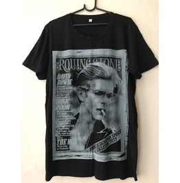 David Bowie Glam Rock T Shirt L