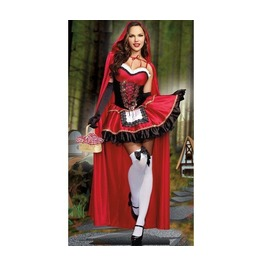 Dark Forest Adult Womens Little Red Riding Hood Costume