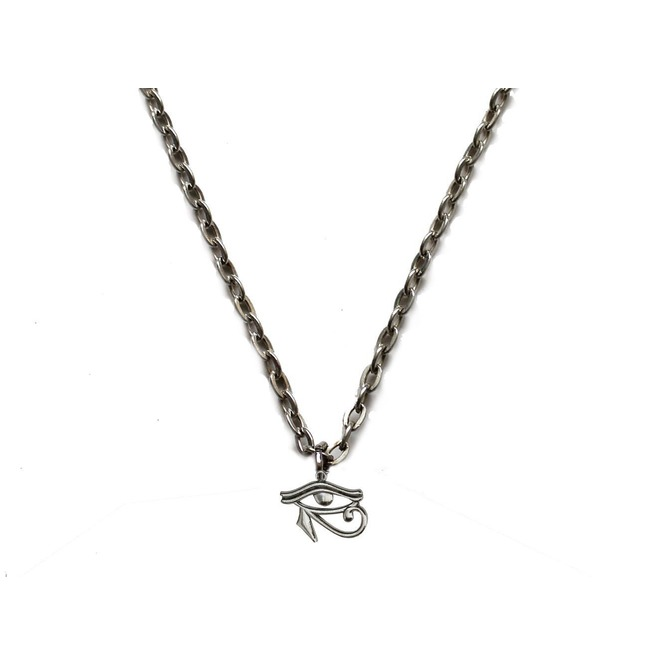 Mev0 Vhoruscn Myth Eye Of Horus Pendant On Chain Necklace Beautiful Fine