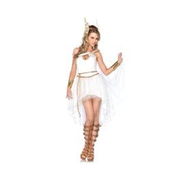 Dark Forest Womens Ancient Greek Goddess Costumes Cosplay Dress