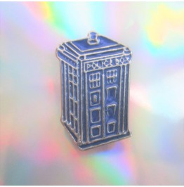 Doctor Who Tardis Blue Police Box Enamel Pin Geeky Jewelry Nerd Brooch