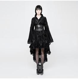 be2f57e29e77 Women's Goth Kimono Printing Dress