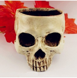 Dark Forest Human Skull Multi Functional Home Decoration Accessories
