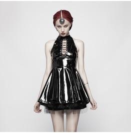 Women's Steampunk Halterneck Dress