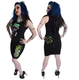 Kreepsville 666 Love U Pieces Pencil Skirt