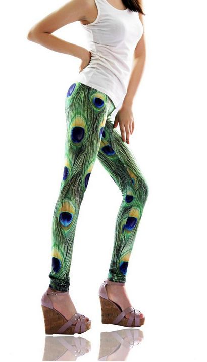 new_peacock_feathers_print_tight_leggings_leggings_3.JPG