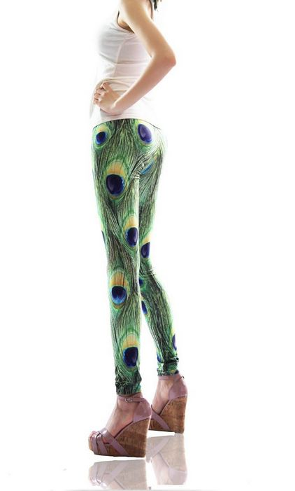 new_peacock_feathers_print_tight_leggings_leggings_2.JPG