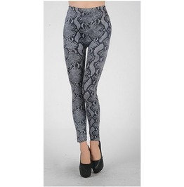 Snake Print Tight Leggings