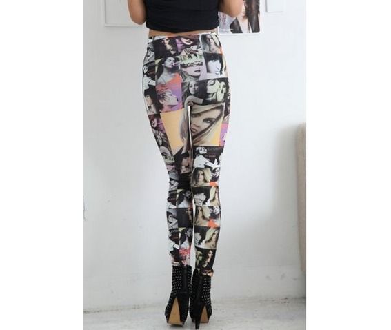 new_women_face_print_tight_leggings_leggings_3.JPG