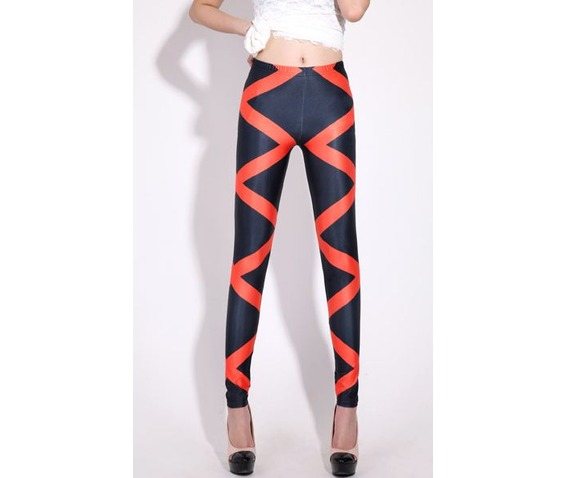 new_red_zig_zag_stripes_tight_leggings_leggings_2.JPG
