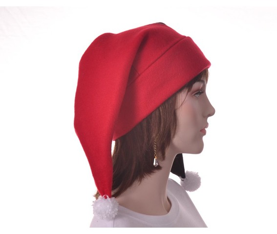 harlequin_hat_two_point_jester_hat_red_black_pompoms_hats_caps_3.JPG