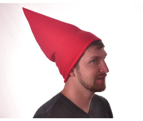 tall_red_gnome_hat_conical_pointed_hat_cone_shaped_hats_caps_4.JPG