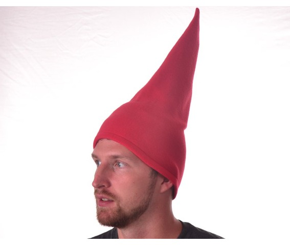 tall_red_gnome_hat_conical_pointed_hat_cone_shaped_hats_caps_3.JPG