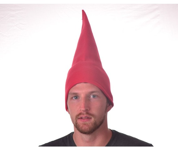 tall_red_gnome_hat_conical_pointed_hat_cone_shaped_hats_caps_2.JPG