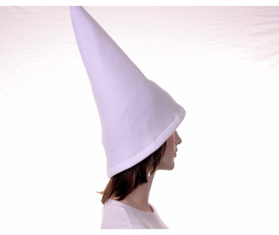 white_brimless_wizard_hat_sorceress_gnome_witch_conical_hats_caps_3.JPG