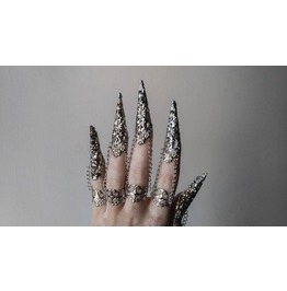 """Full Hand Armour """"Alik"""" Gothic Finger Claws"""