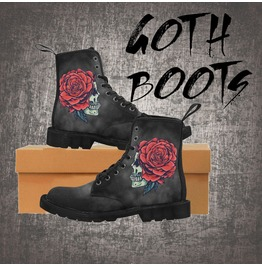 2a300b3aac8 Gothic Boots For Women | RebelsMarket