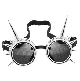 Steampunk Welding Cyber Round Shaped Protective Eyewear Goggles