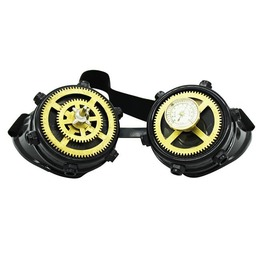 Burning Man Steampunk Clock Gear Wheel Welding Goggles