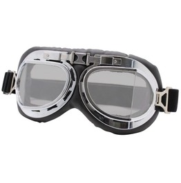 Steampunk Vintage Retro Burning Man Motorcycle Protective Gear Goggles