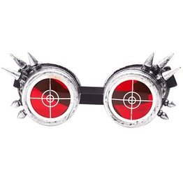 Cosplay Halloween Steampunk Spiked Round Shaped Costume Goggles