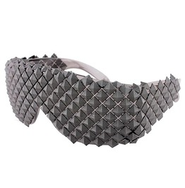 Gold Silver Black Steampunk Pyramid Sunglasses