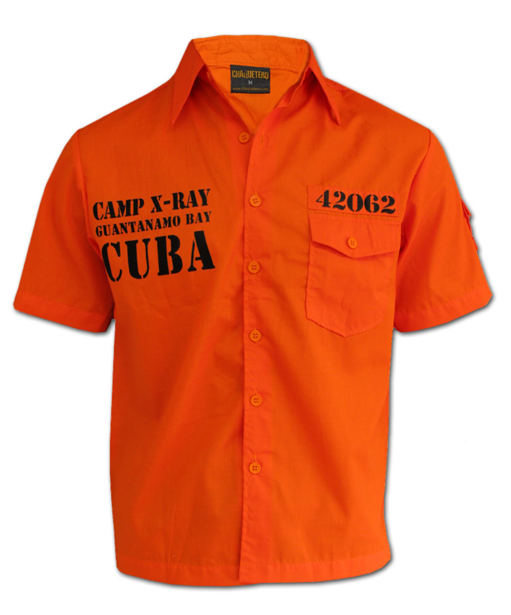 Guantanamo Bay Cuban Prison Quot Worker Shirt Quot Chaquetero Men