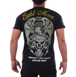 Eight Monday T-shirt Tattoo Retro Vintage Rock Kustom Rockabilly Biker M5