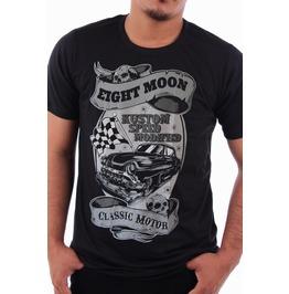 Eight Monday T-shirt Tattoo Retro Vintage Rock Kustom Rockabilly Biker M7