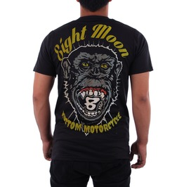 Eight Monday T-shirt Tattoo Retro Vintage Rock Kustom Rockabilly Biker M8