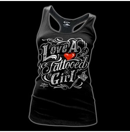 Love Tattooed Girl Tank