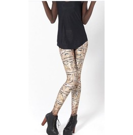 Ancient Egyptians Characters Tight Leggings