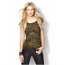 Camouflage Pattern Women T Shirt Tee