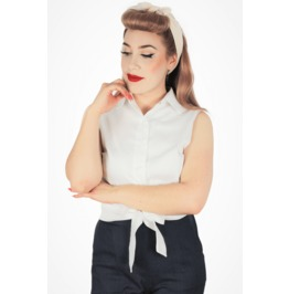 White Knot Top Extra Small to Three Extra Large