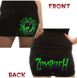 Kreepsville 666 Zombitch Miniskirt