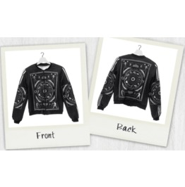 Dark Forest Fashion Teen 3D Print Occultism Womens Jacket