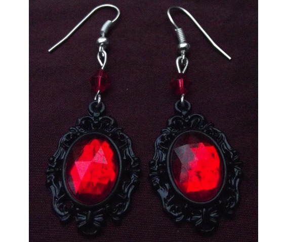 gothic_steampunk_victorian_red_jewel_drop_bead_earrings_earrings_2.JPG