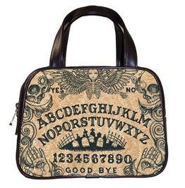 Ouija Board With Angel Of Death Handbag