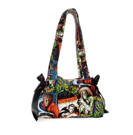 Horror Movie Hollywood Monsters Purse