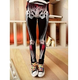 Skeleton Tight Leggings