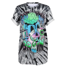 Dark Forest Summer Tees 3D Brain Printed T-Shirt For Women
