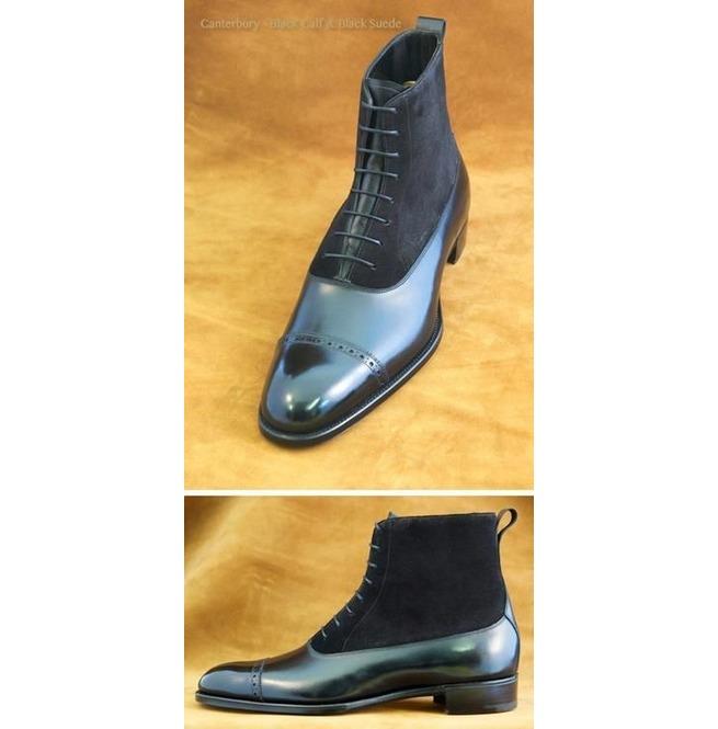 mens black lace up dress boots