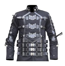 Hellraiser Long Vampire Coat Steampunk Long Coat
