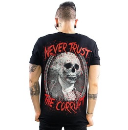 Never Trust the Corrupt Men's T-Shirt