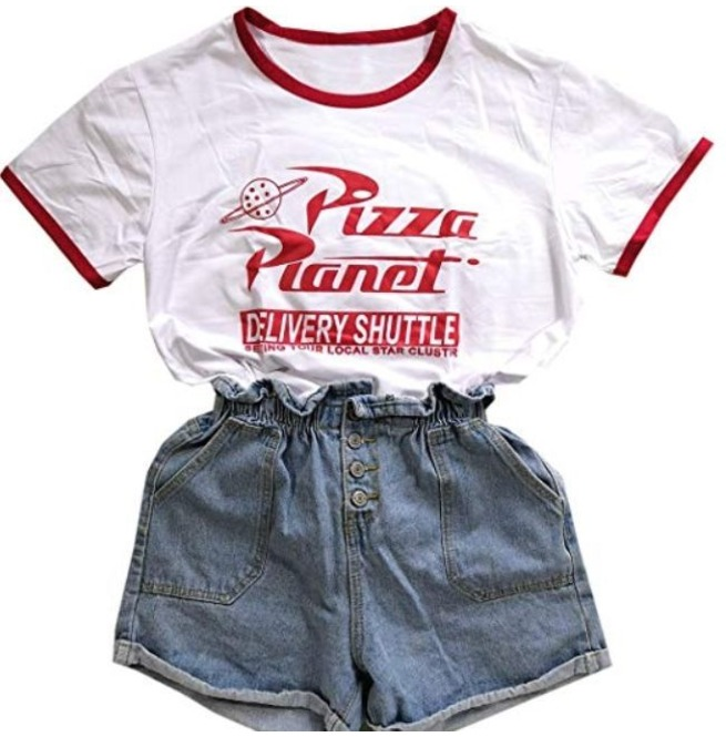 Pizza Planet T Shirt In White Color